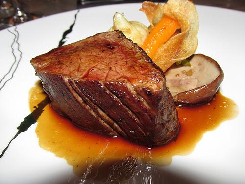 """"""" Le Champlain"""", restaurant, Quebec beef"""