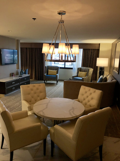 director suite, stay and play at grand sierra resort, reno nevada