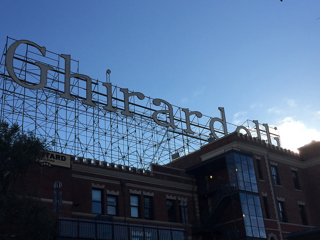 ghirardelli square, san francisco, california, chocolate factory