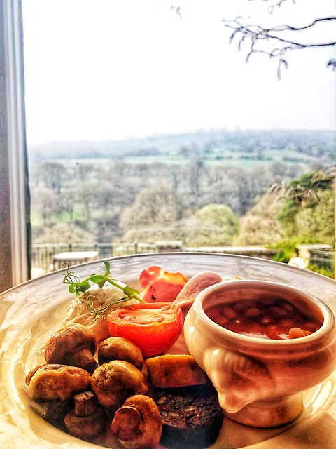 english breakfast, welsh breakfast, gliffaes country house breakfast