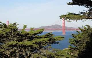 golden gate bridge, lands end, san francisco, california, bridge, golden gate