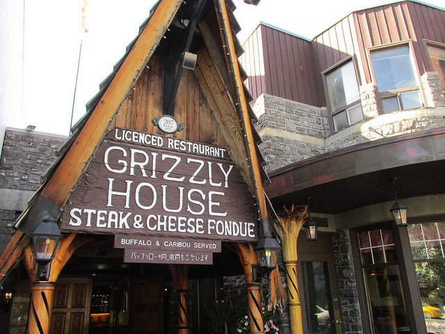 Grizzly house, alberta, canada