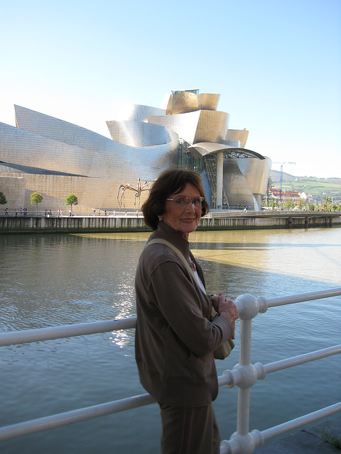janet mooers, nervion river, guggenheim museum, things to do in bilbao, spain