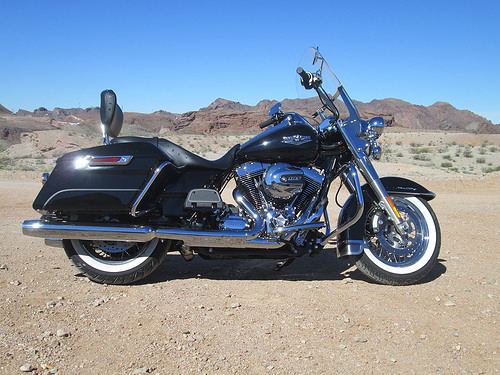 harley-davidson, road king, motorcycle,
