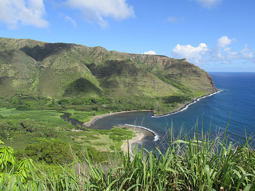 """Halawa Valley"", ""Molokai"", Hawaii"
