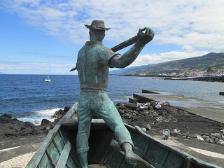 Harpoon whaler Pico Island