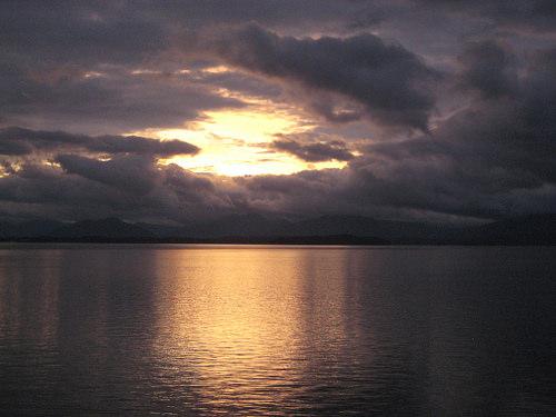 """Alaska"" sunrise"
