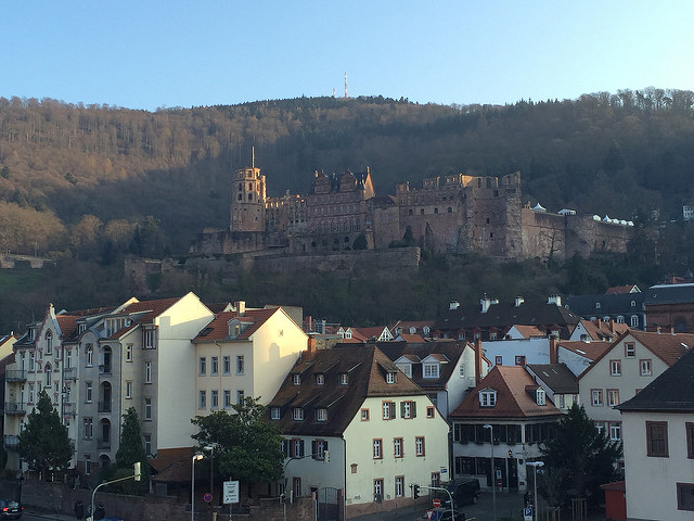 heidelberg castle, heidelberg, neckar valley, germany