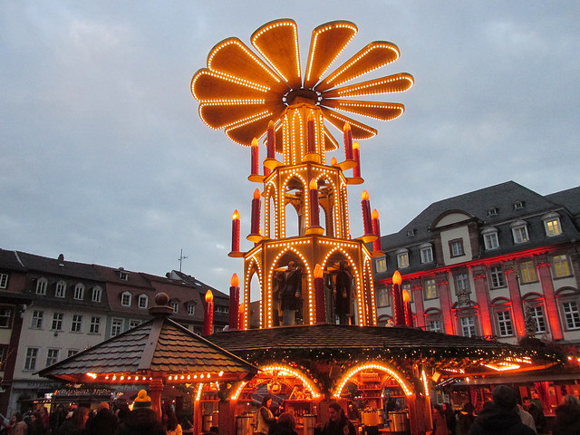 heidelberg, christmas, germany