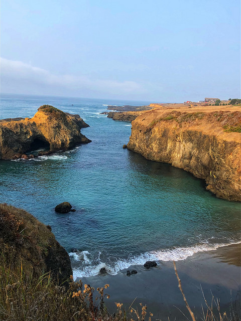hidden beach, inn at newport ranch review, fort bragg hidden beach, mendocino coast, fort bragg california