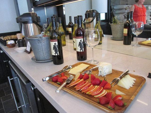 wine & cheese, the hideaway carmel, carmel, california