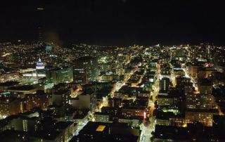 san francisco city lights, union square, san francisco, california