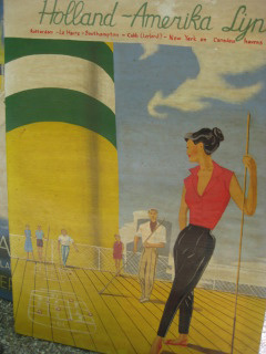 Holland America Line, antique, Hague, Nancy D. Brown, travel