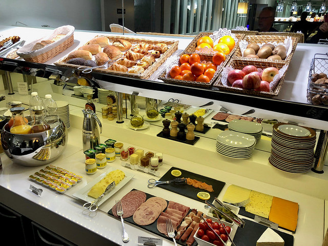 breakfast buffet, best western premier hotel bayonne etche ona, bordeaux, france