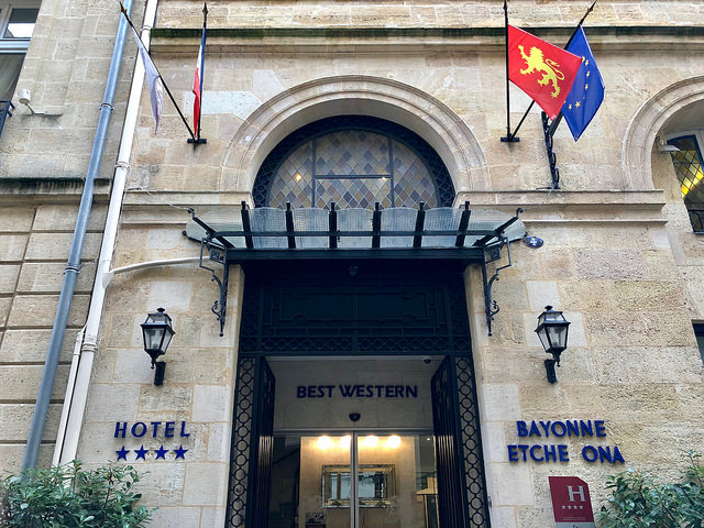 best western premier, hotel bayonne etche ona, bordeaux, france