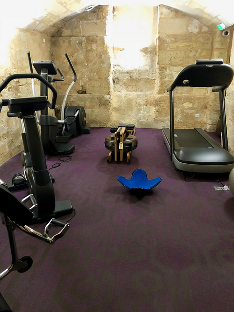fitness center, hotel bayonne etche ona, best western premier, bordeaux, france