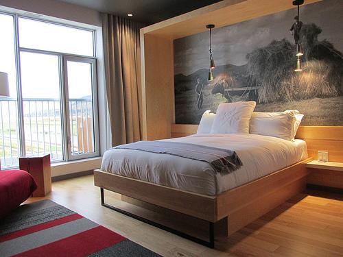 """Hotel La Ferme"", hotel room"