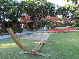 """Molokai"" hammock, hotel"