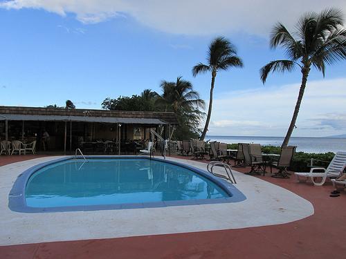 """""""Hotel Molokai"""" pool"""
