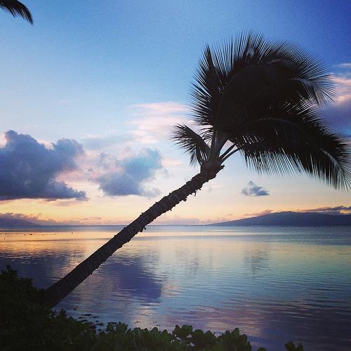 """sunrise, """"Hotel Molokai"""", Hawaii"""