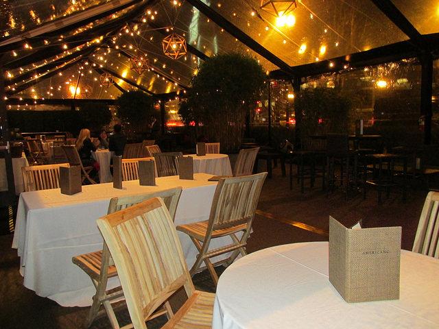indoor patio, hotel vitale, san francisco