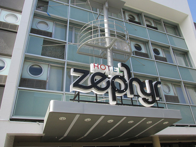 Hotel Zephyr, Fisherman's Wharf, San Francisco, hotel