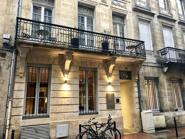 hotel de tourney, bordeaux, france