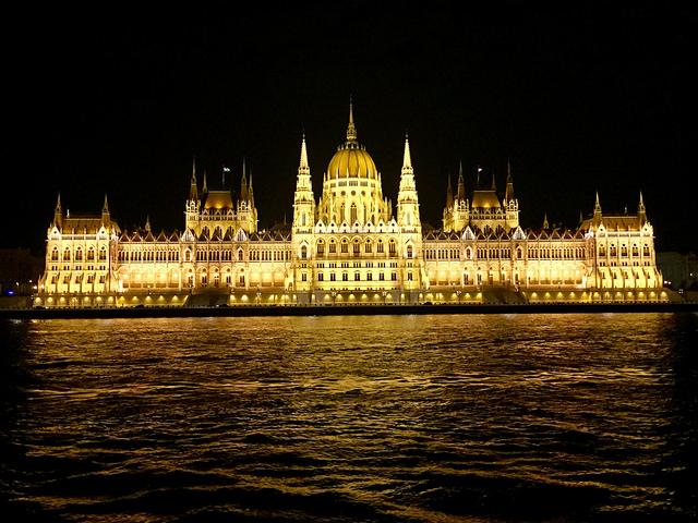 hungarian parliament building, budapest, hungary, danube river, illumination cruise, parliament building