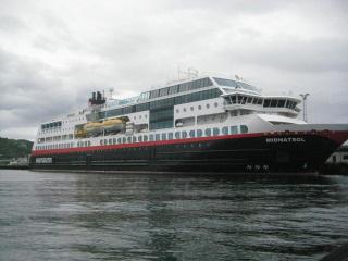 Hurtigruten, MS Midnatsol, ship, Norway, Nancy D. Brown, travel