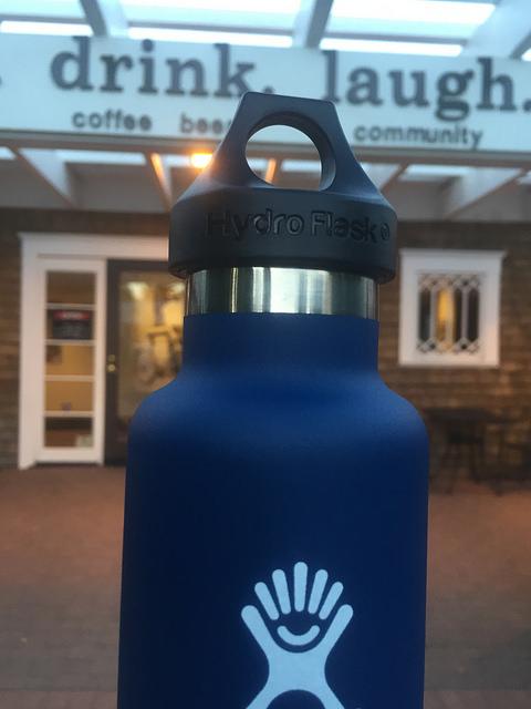 hydro flask, water bottle, bend, oregon