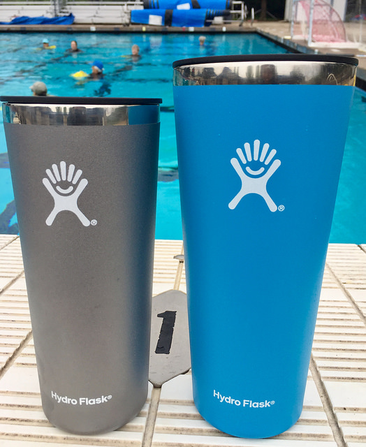 hydro flask, tumbler, water bottle