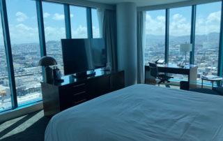 Intercontinental San Francisco corner king hotel room, intercontinential san francisco hotel review, hotel near moscone center, luxury hotel soma district, san francisco luxury hotel