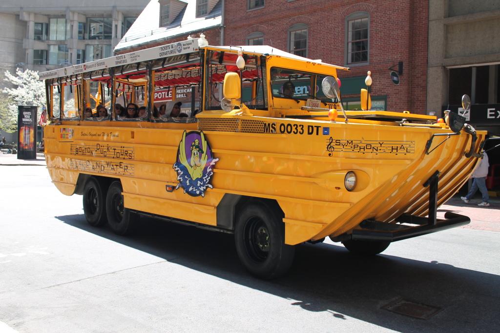 Boston Foodie Tour - Duck Tour