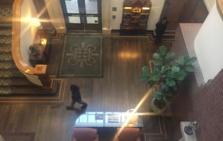 stanford park hotel, menlo park hotel, hotel lobby, california