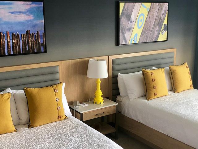 ocean view hotel room, inn at the pier, pismo beach, central coast, california