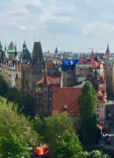 praha view, prague view, jewish quarter, czech republic