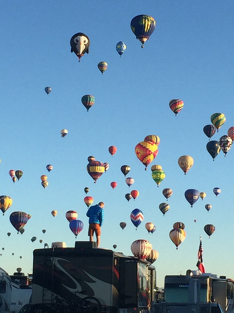 albuquerque international balloon fiesta, recreational vehicle, rv park, new mexico