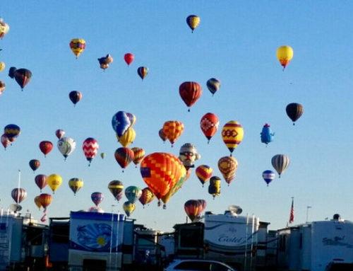 Albuquerque International Balloon Fiesta RV Park