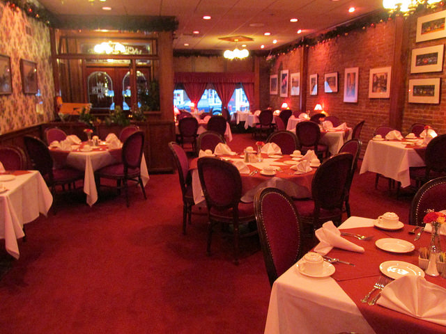 jacksonville inn, dining room, jacksonville, oregon