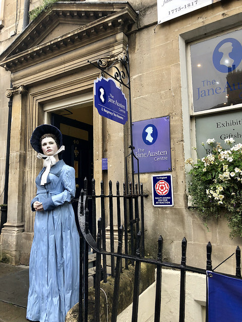 jane austen centre, jane austen center, 9 things to do in bath