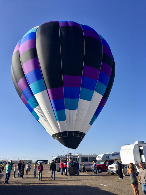 jessie zimmer, huckleberry balloon, albuquerque balloon fiesta, new mexico