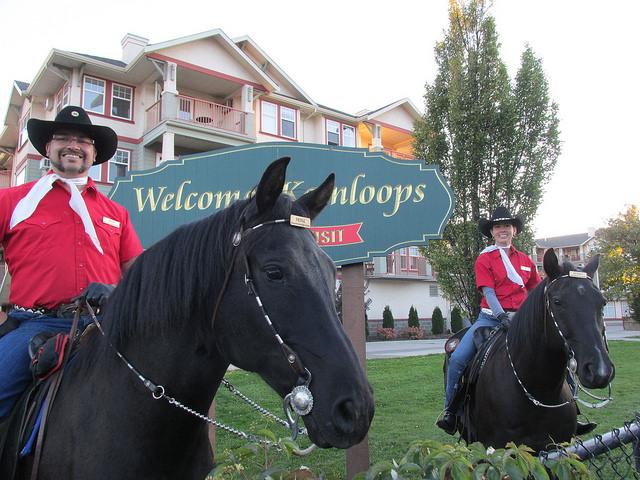 kamloops mounted patrol, canada