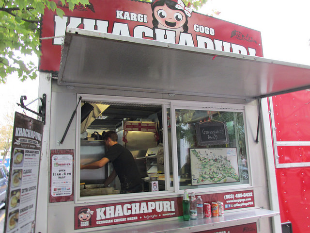 kargi gogo, food truck, portland epicurean food tour, oregon restaurant
