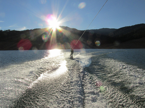 "wake boarding ""Shasta Lake"""