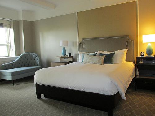 """Le Chateau Fairmont Frontenac"", hotel, hotel room"