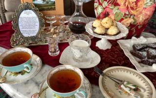 afternoon tea, la belle epoque, napa, california, tea cups, tea service, high tea