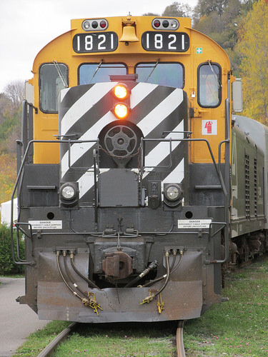 """Le Train Massif de Charlevoix"""