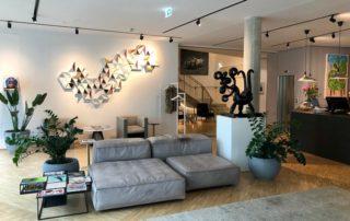 origami art, art design hotel at Lend Hotel in Graz.