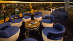 Level 107 Lounge at Stratosphere Hotel and Casino.