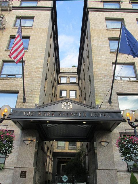 mark spencer hotel, hotel, portland, oregon